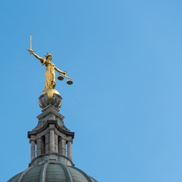 """""""Lady Justice"""" stock image"""