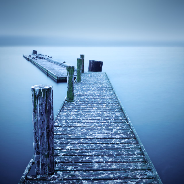 """""""Alfred's Jetty"""" stock image"""