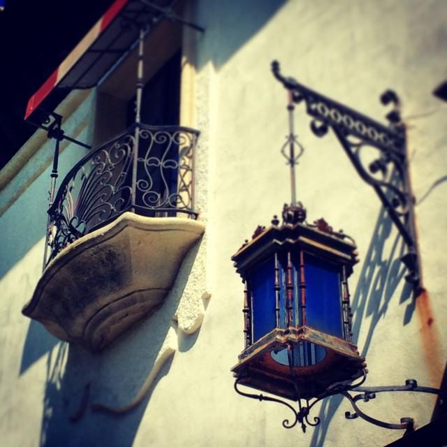 """Blue Lantern"" stock image"