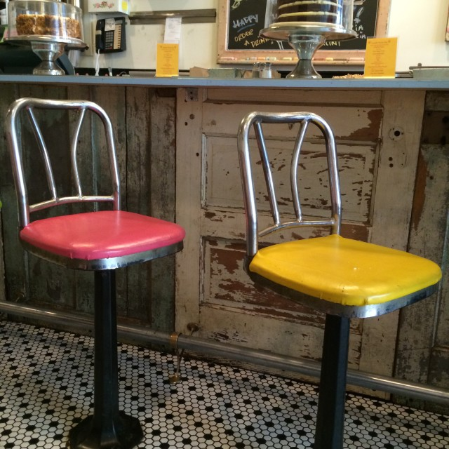 """color stools 4"" stock image"
