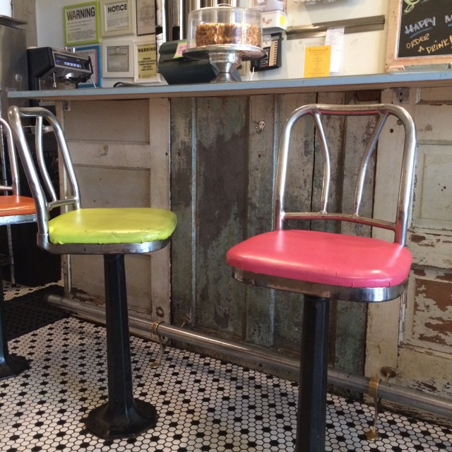 """color stools 5"" stock image"