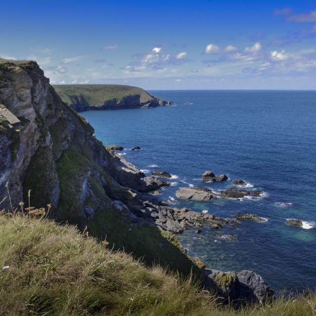 """Cornwall coast"" stock image"