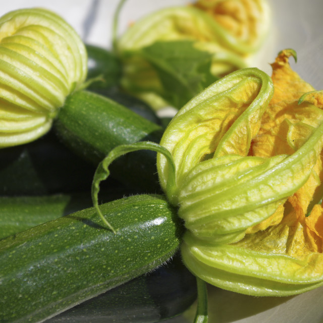 """Courgettes 3"" stock image"