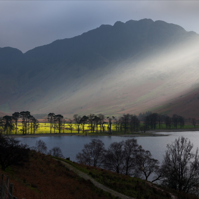 """Spotlight by Buttermere"" stock image"
