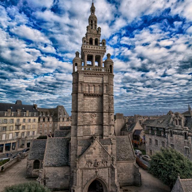 """""""Notre Dame de Croaz Batz"""" stock image"""