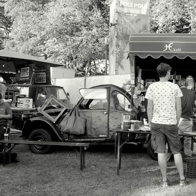 """Coffee Car"" stock image"