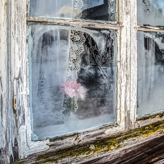 """Winter window"" stock image"