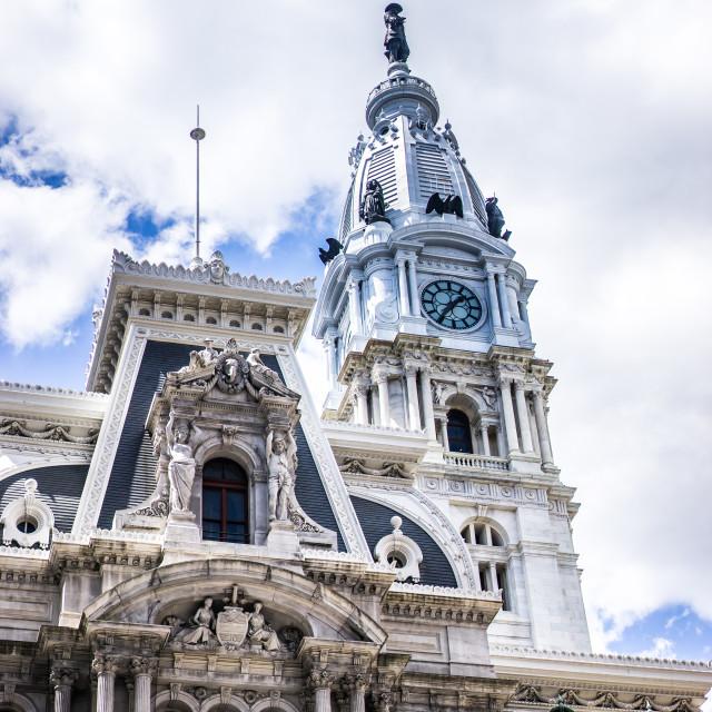 """Philadelphia City Hall"" stock image"