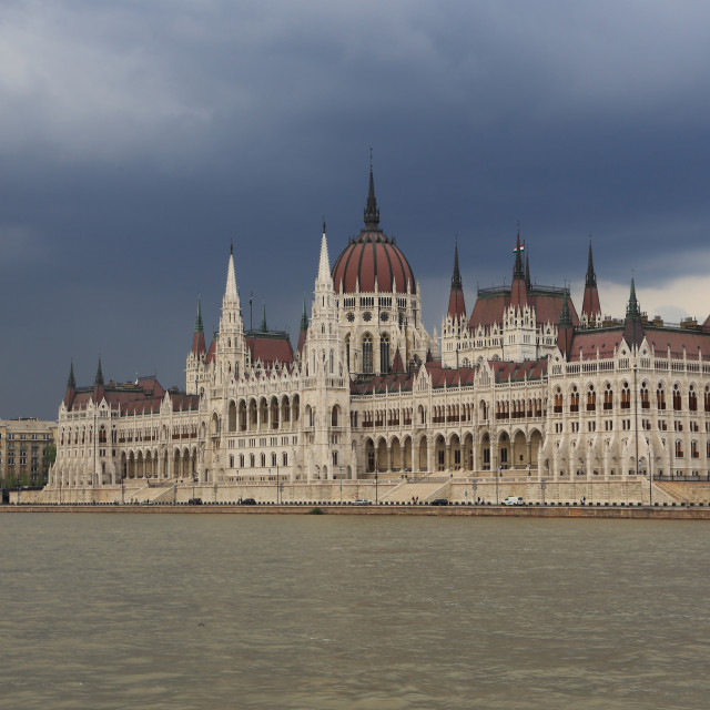 """""""The Parlamient - Budapest"""" stock image"""