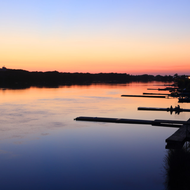 """Sabaudia Lake"" stock image"