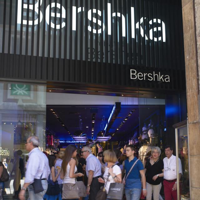 """Bershka"" stock image"