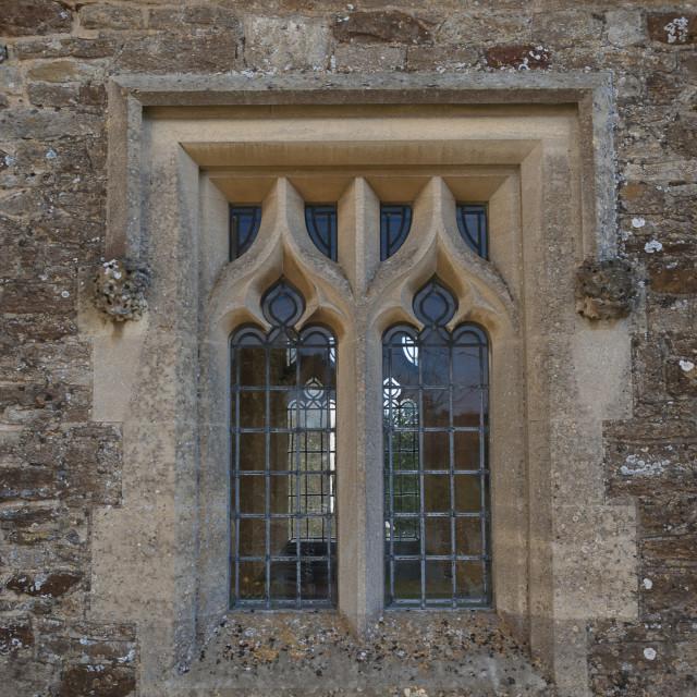 """""""Mullioned window"""" stock image"""