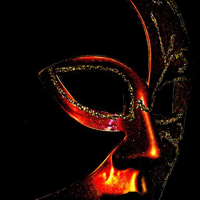 """""""Mask2"""" stock image"""