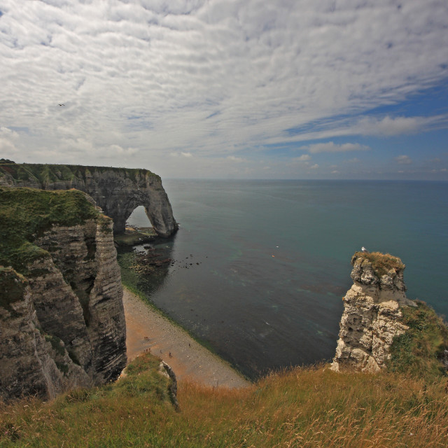 """Etretat- The Cliffs"" stock image"