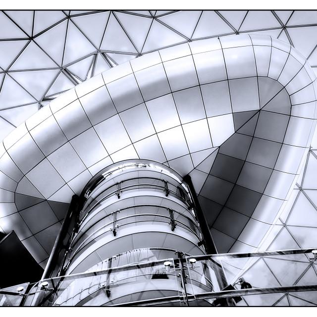 """Observation Deck, Victoria Square Belfast"" stock image"