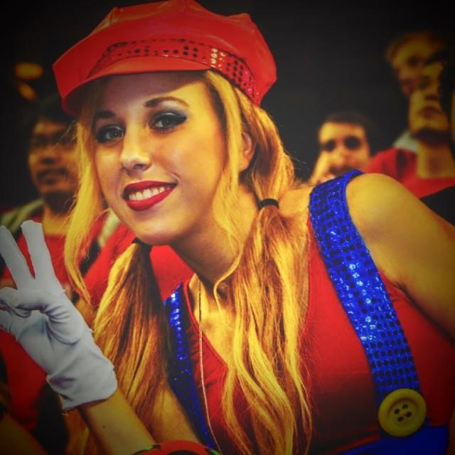 """""""Super Mario Sister"""" stock image"""