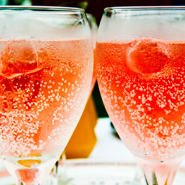 """Pink Fizz"" stock image"