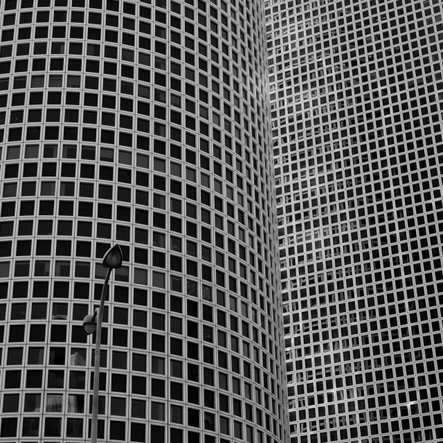 """Azrieli Center"" stock image"