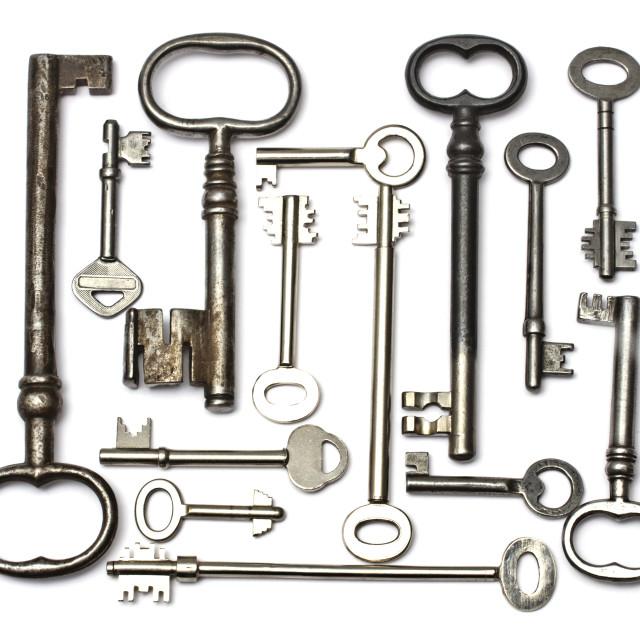 """""""Old key"""" stock image"""