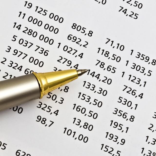 """Data analyzing"" stock image"