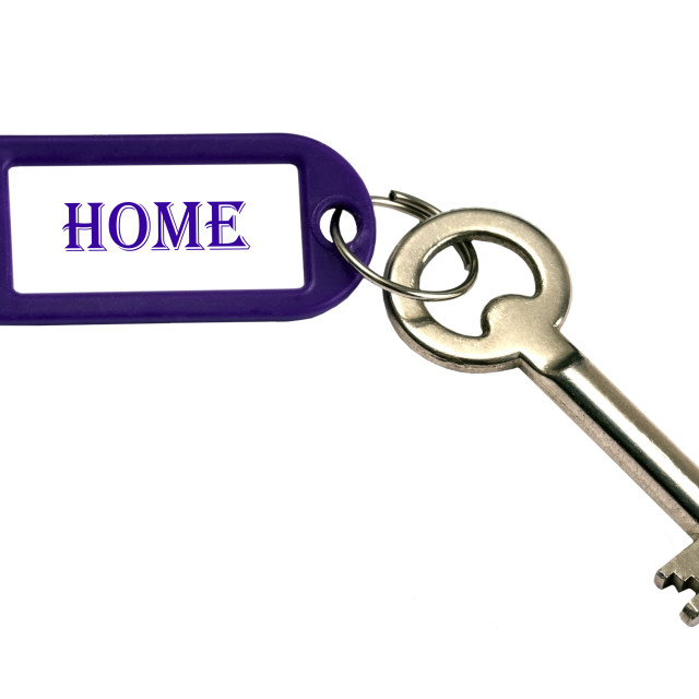 """Home key"" stock image"