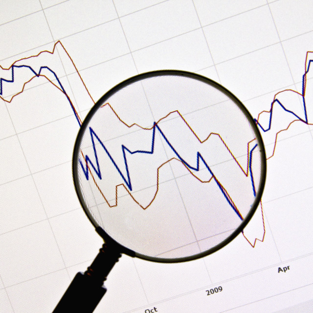 """Background of business graph"" stock image"
