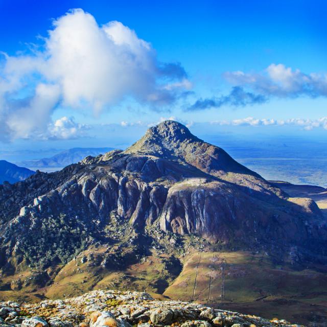 """Namisile Peak"" stock image"