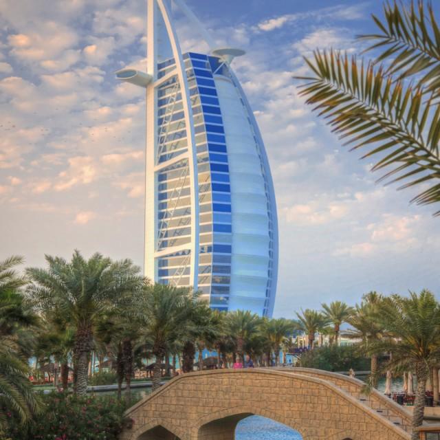 """""""Dubai Icon"""" stock image"""