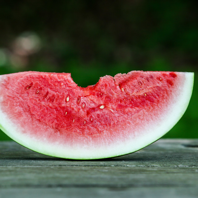 """Slice of melon"" stock image"