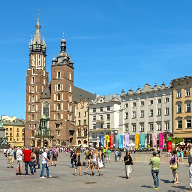 """Poland, Cracow"" stock image"