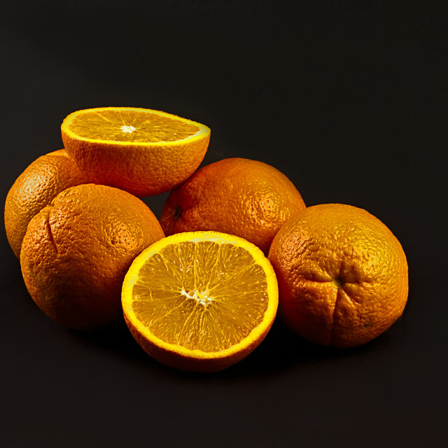 """Oranges"" stock image"