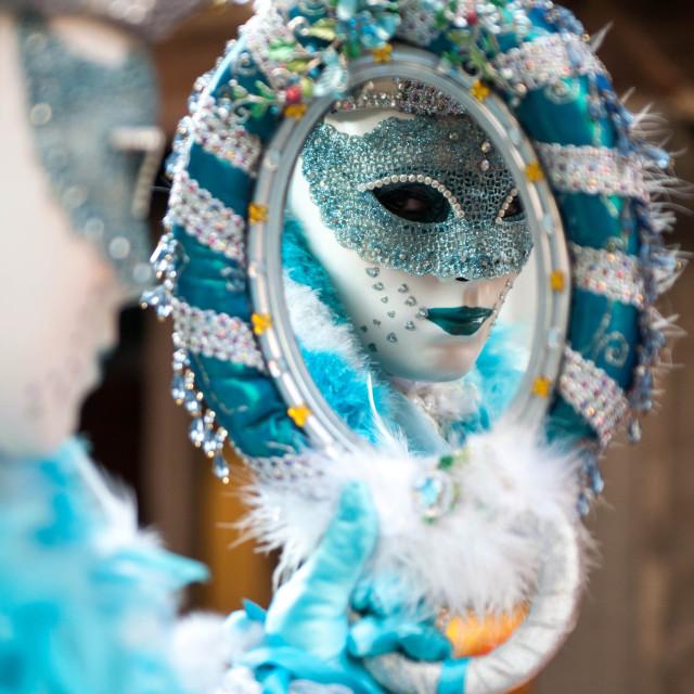 """Venice Carnival Italy"" stock image"