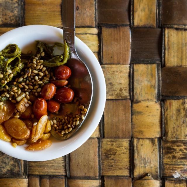 """""""Myanmar food"""" stock image"""