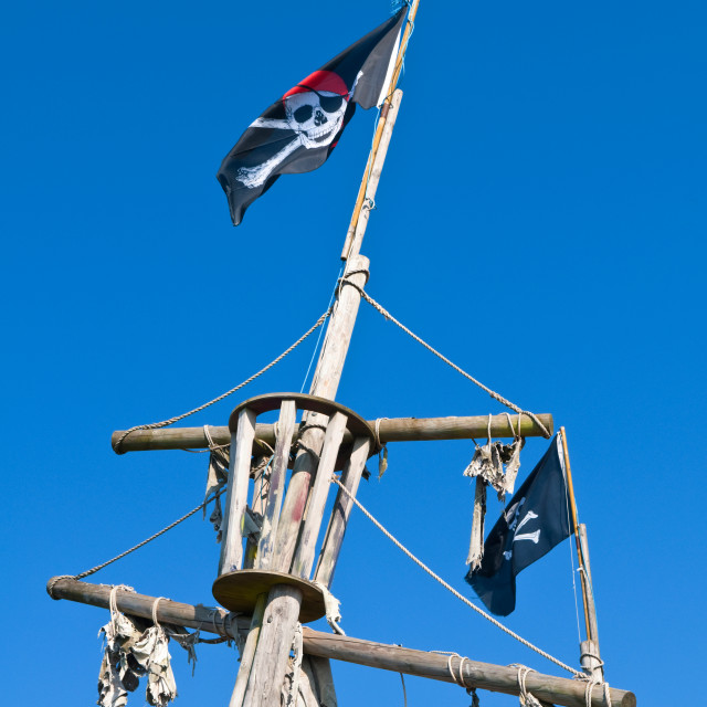 """Pirate Ship"" stock image"