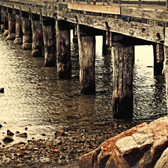 """Pier"" stock image"