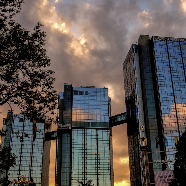 """Gothia Towers"" stock image"