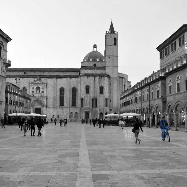 """""""Ascoli Piceno Italy"""" stock image"""