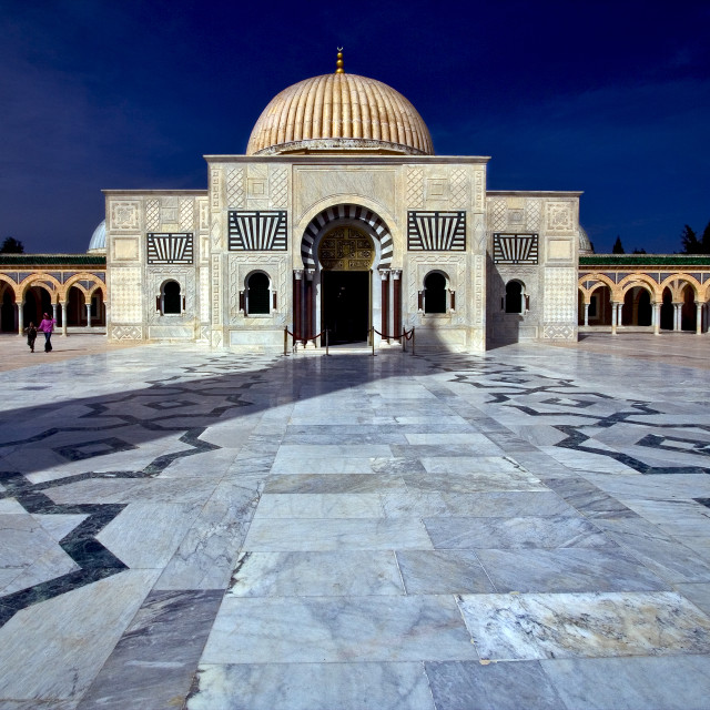 """mausoleum in monastir"" stock image"