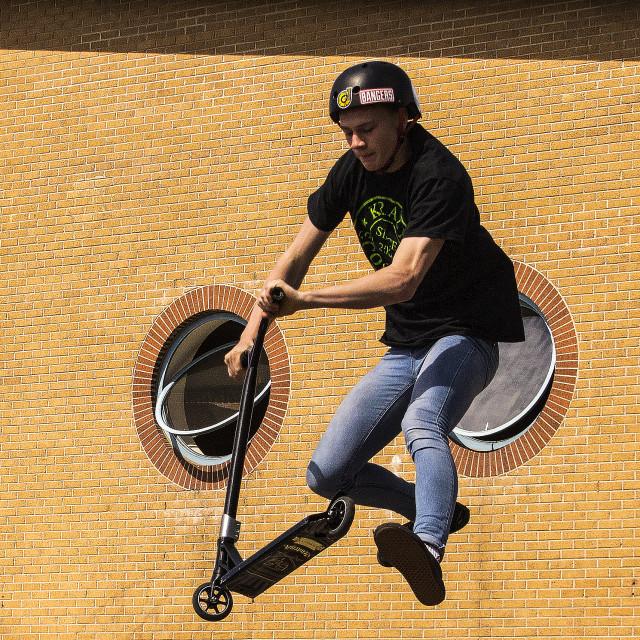 """Flying machine"" stock image"