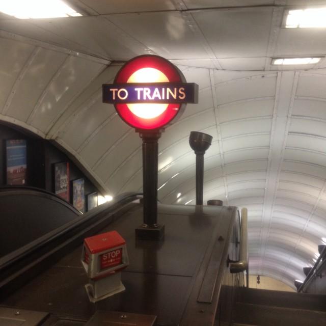 """""""Underground Roundel"""" stock image"""
