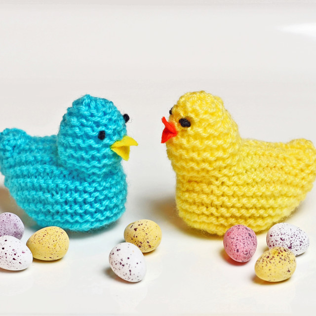 """Easter Chicks"" stock image"
