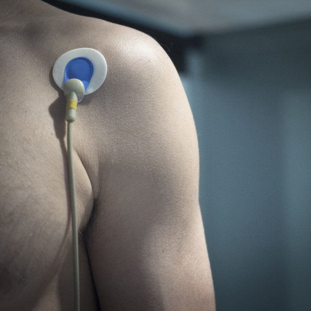 """""""Sports performance fitness endurance evaluation heart rate test"""" stock image"""