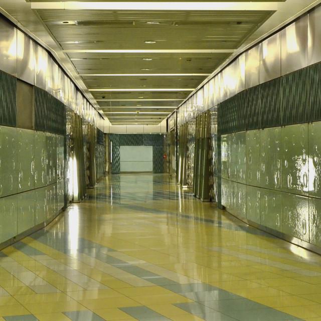 """""""Dubai Metro"""" stock image"""