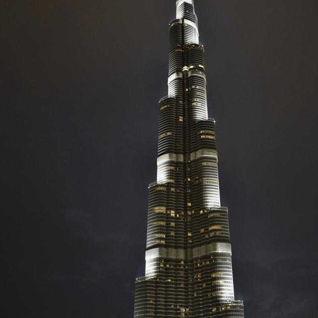 """""""Burj Khalifa Dubai"""" stock image"""