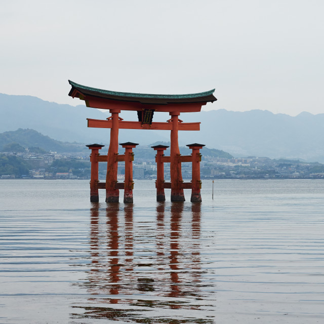 """The Great Tori Gate"" stock image"