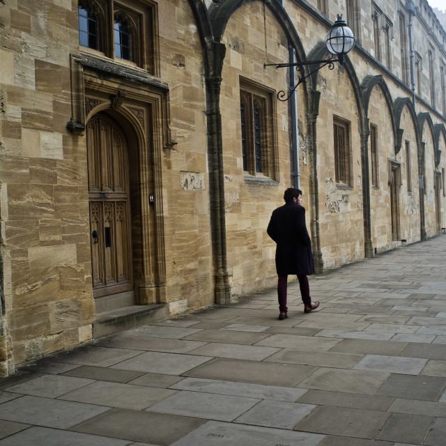"""Christ Church College"" stock image"