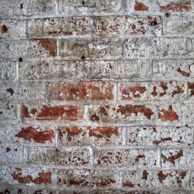 """""""Old Brick wall"""" stock image"""