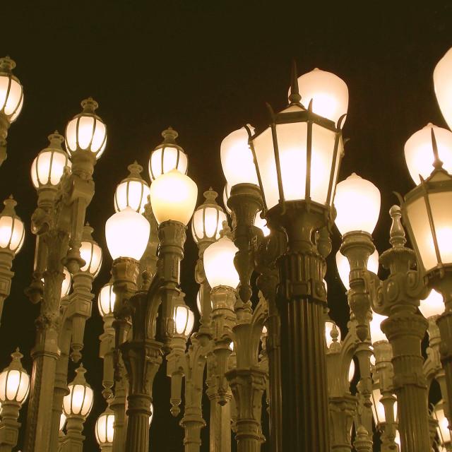 """Urban Light"" stock image"