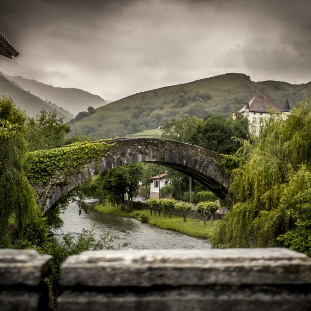 """Bridge of Insignificance"" stock image"