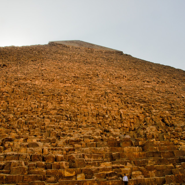"""Great Pyramid"" stock image"